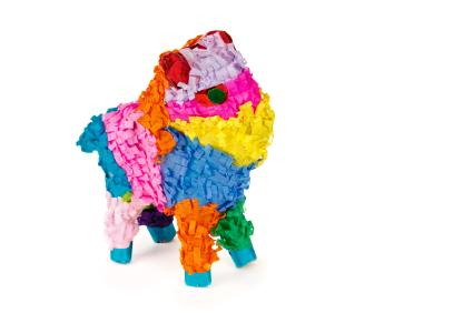 traditional bull pinata