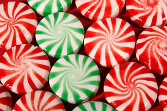 Round Starlight mint candies