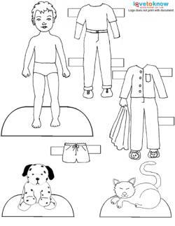 Printable Paper Dolls and Clothes | LoveToKnow