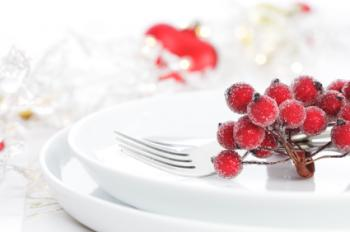 berry napkin rings