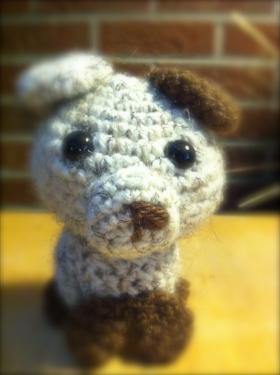 amigurumi dog