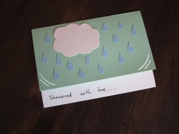 shower card