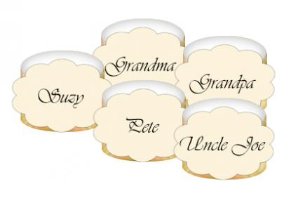 printable napkin ring craft