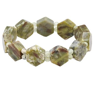 Connemara Marble Giants Causeway Bracelet from The Shopping Channel http://www.theshoppingchannel.com/pages/quickview?nav=R:466935