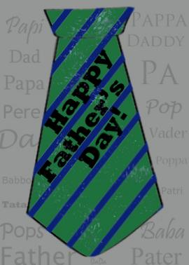 Father's day card project