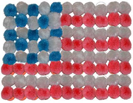 Puff flag craft