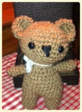 amigurumi crochet bear