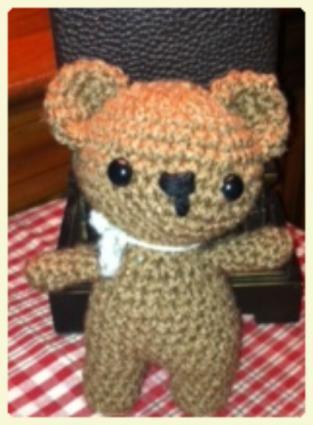 How to crochet a basic teddy bear / amigurumi bear - Buttons ... | 425x313