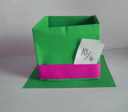 hat box step 5