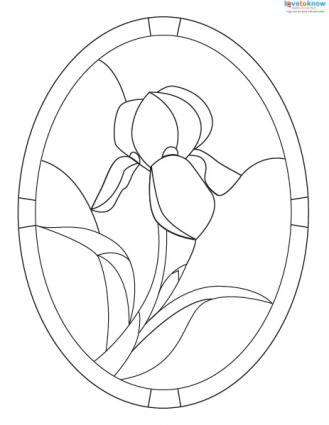 Free Stained Glass Patterns LoveToKnow Classy Free Stained Glass Patterns