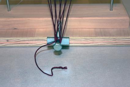bead loom endless warp wrapping