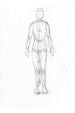 Refine hands, feet and neck