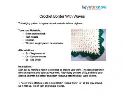 Wave Edging