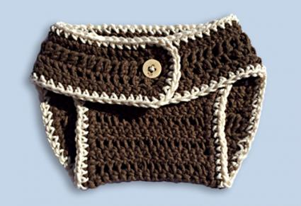 Pattern To Crochet Diaper Covers