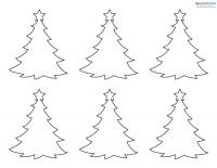 Felt Craft Patterns 1 tree
