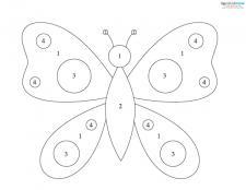 Butterfly Mosaic Pattern