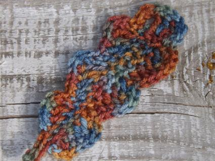 Crocheted Oak Leaf