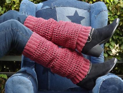 How To Make Leg Warmers LoveToKnow Awesome Crochet Leg Warmer Pattern