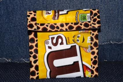 Candy Wrapper Change Pouch
