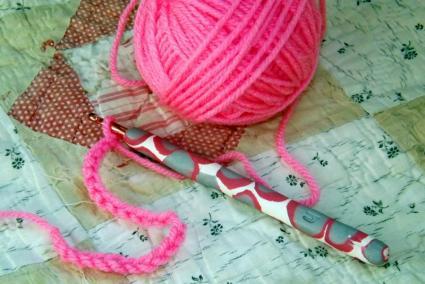 Clay Crochet Hook Grip