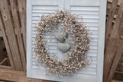 Hanging Shutter Wall Display