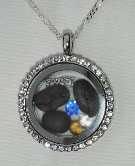 Coffee Bean Locket