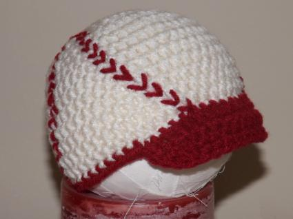 Baby Crochet Baseball Cap