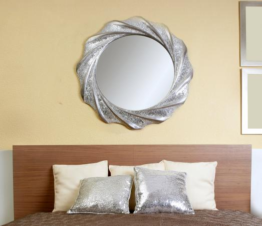 How To Paint A Mirror Frame Silver Lovetoknow