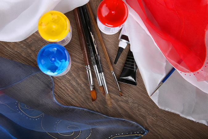 silk painting supplies