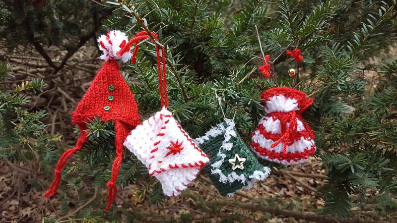 Knitting Patterns For Christmas Ornaments