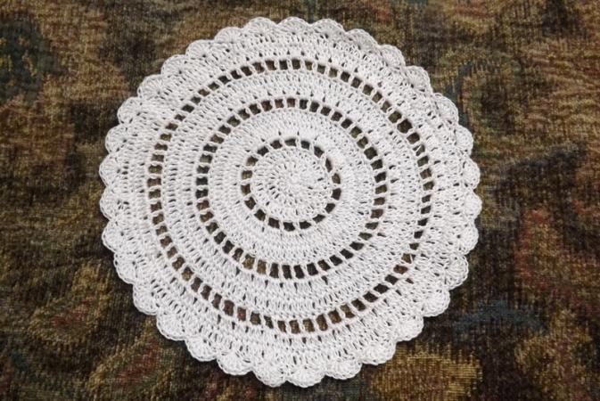 Crochet Round Tablecloth Patterns