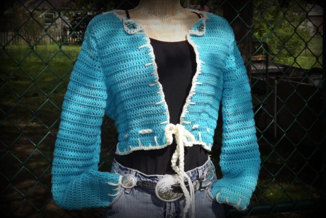 Crochet Bolero Pattern