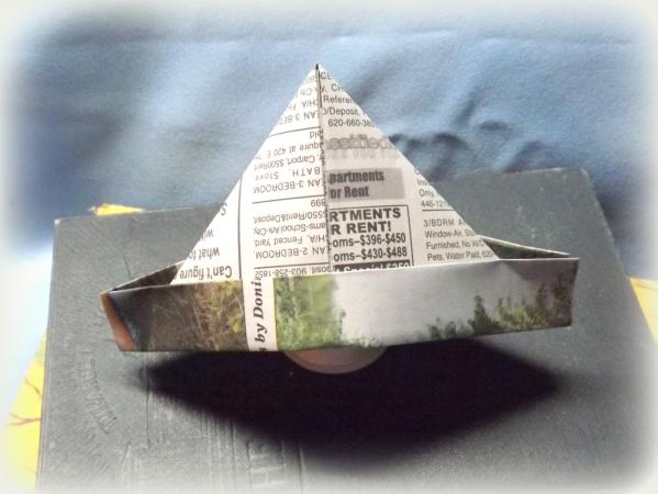 Newspaper Hat