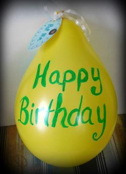 Happy Birthday Balloon Craft