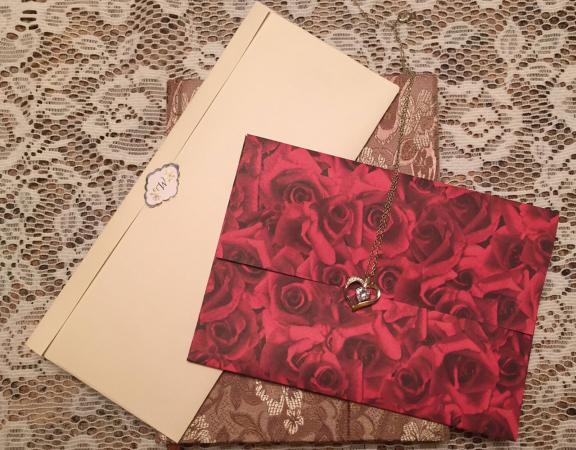 Card and letter sized envelopes