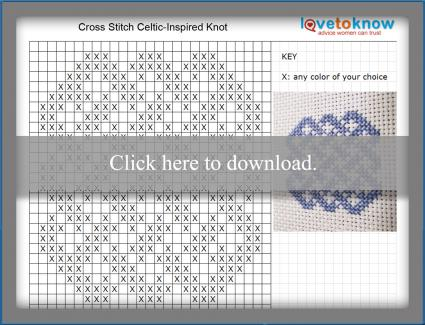 celtic cross stitch knot pattern