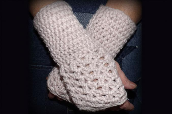 Fingerless Gloves Crochet Pattern