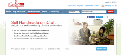 iCraft website