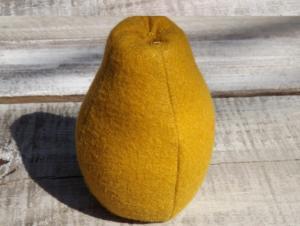 Felt Pear Pattern