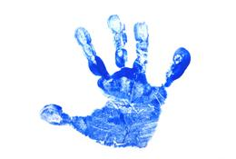 Baby's handprint