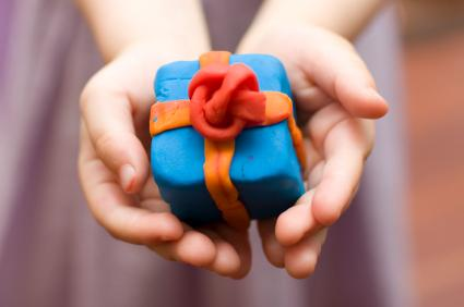 Plasticine gift box