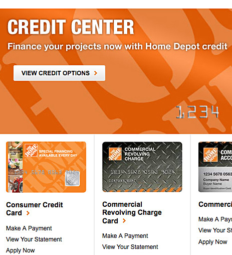 The Home Depot Credit Card Options  LoveToKnow