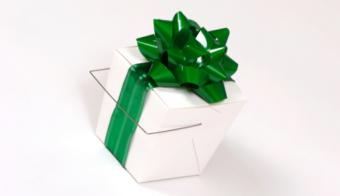 Takeout container gift box