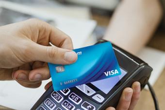 Tap to pay using credit card