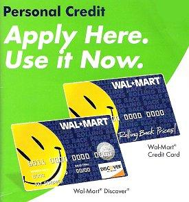Walmart Credit Card Options
