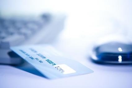 Debit Card and Keyboard