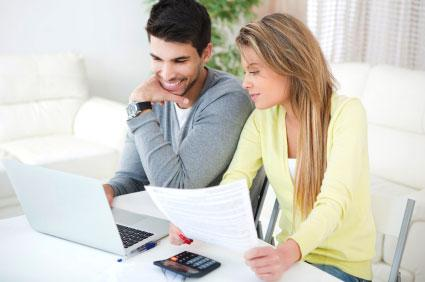 Couple Reviewing Credit Score