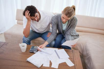 Couple going through bankruptcy