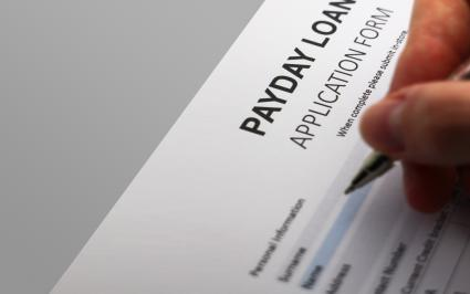 Payday loan application