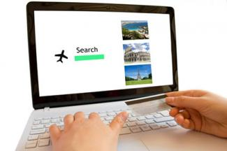 Using credit card to make travel purchase